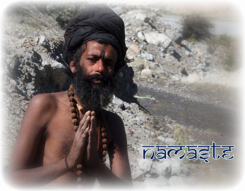 Sadhu im Kali Gandaki Tal
